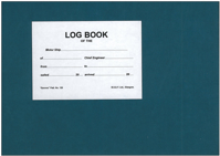 Picture of Chief Engineers Log Book