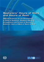 Picture of I973E IMO/ILO Guidelines on Seafarers Hours of Work and Hours of Rest