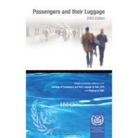 Picture of IA436E Athens Convention Relating to Passengers and their Luggage