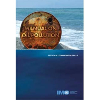 Picture of IA569E Manual on Oil Pollution IV - Combating Oil Spills, 2005 Edition