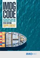 Picture of IJ210E IMDG Code Supplement (2018)