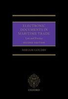 Picture of Electronic Documents in Maritime Trade: Law and Practice, 2nd Edition