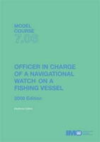Picture of ET706E e-book: Officer in charge of Navigational Watch on Fishing Vessel, 2008 Edition