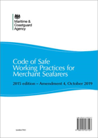 Picture of Code of Safe Working Practices for Merchant Seafarers 2015 Edition - Amendment 4, October 2019