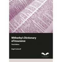 Picture of Witherby's Dictionary of Insurance