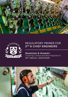 Picture of Regulatory Primer for 2nd & Chief Engineers: Questions and Answers Covering Current and New Regulations, 10th Edition 2019/2020