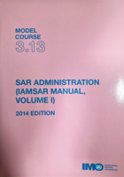 Picture of ETB313E SAR Administration (IAMSAR Vol I), 2014 Edition, e-book