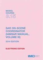 Picture of ET315E e-book: SAR On-Scene Coordinator (IAMSAR Manual, Volume III), 2014 Edition