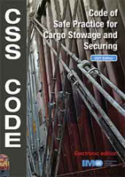 Picture of KC292E e-reader: Cargo Stowage and Securing (CSS) Code, 2021 Edition