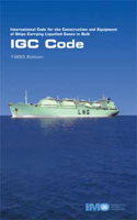 Picture of I104E IGC Code 1993 Edition
