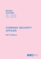 Picture of ETA320E e-book: Company Security Officer, 2011 Edition