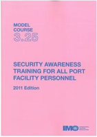 Picture of ET325E e-book: Security Awareness Training for Port Facility Personnel, 2011 Edition