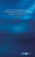 Picture of E782E e-book: Gas Carrier Code, 1983 Edition